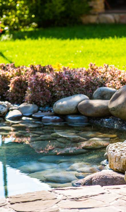 Allscapes Exteriors Ltd Residential Water Features